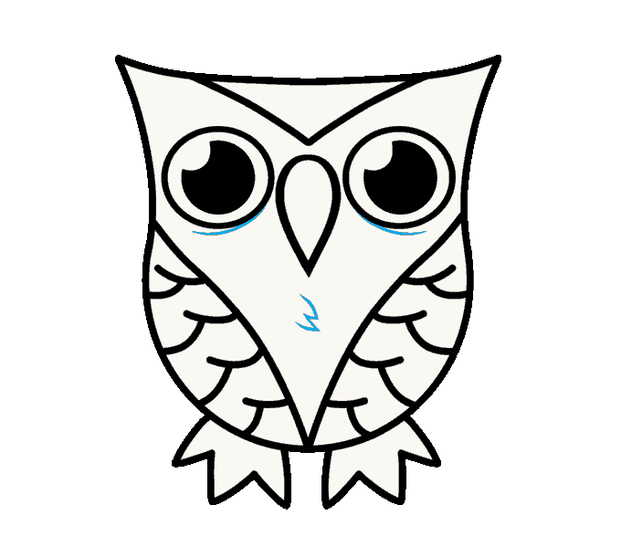clipart download How to Draw a Cartoon Owl in a Few Easy Steps