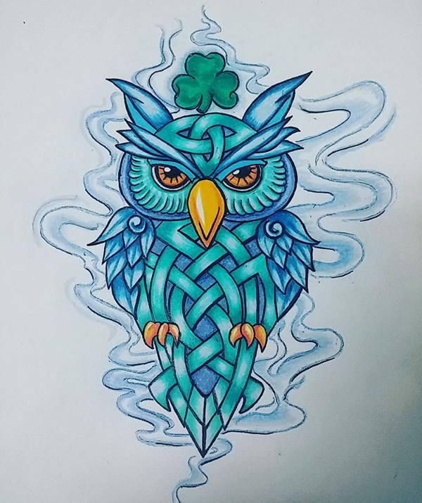 freeuse library Drawing owls artistic.  owl drawings art