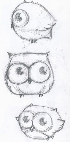 vector library  best images owl. Drawing owls cute