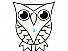 transparent library Drawing owls deep. Owl pictures to draw