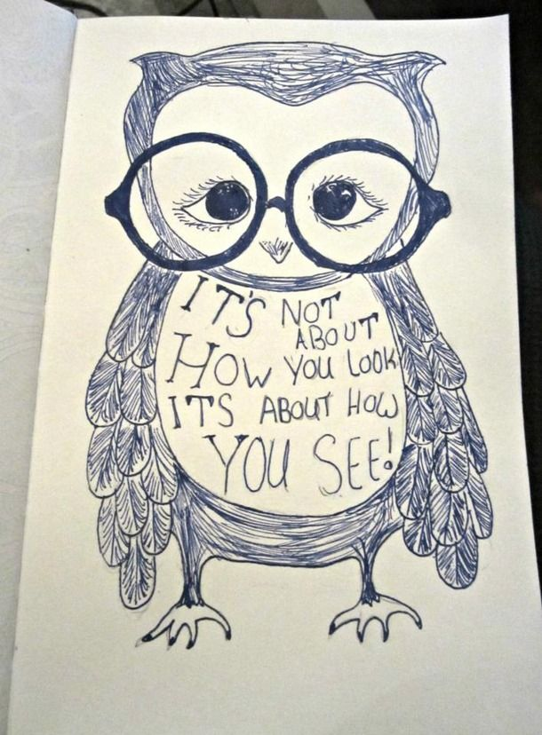 graphic freeuse library Owl pen quote sketch. Drawing owls inspirational