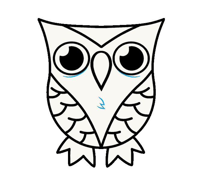 png stock How to draw an. Drawing owls kawaii