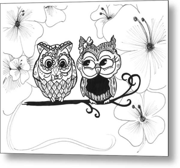 svg download Drawing owls love. In