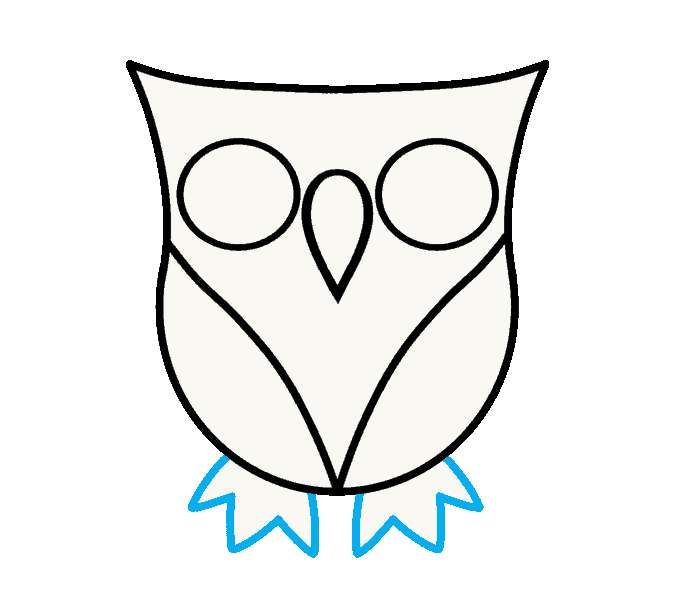 picture free download How to draw a owl step by step