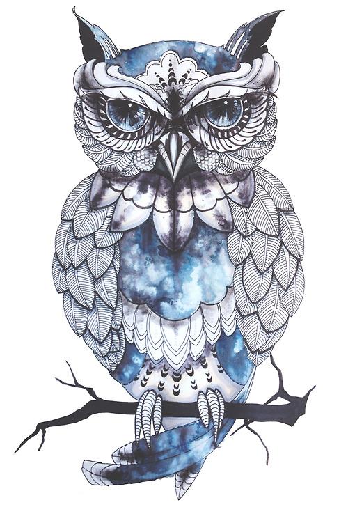 image black and white stock Tumblr n yiz deny. Drawing owls tattoo