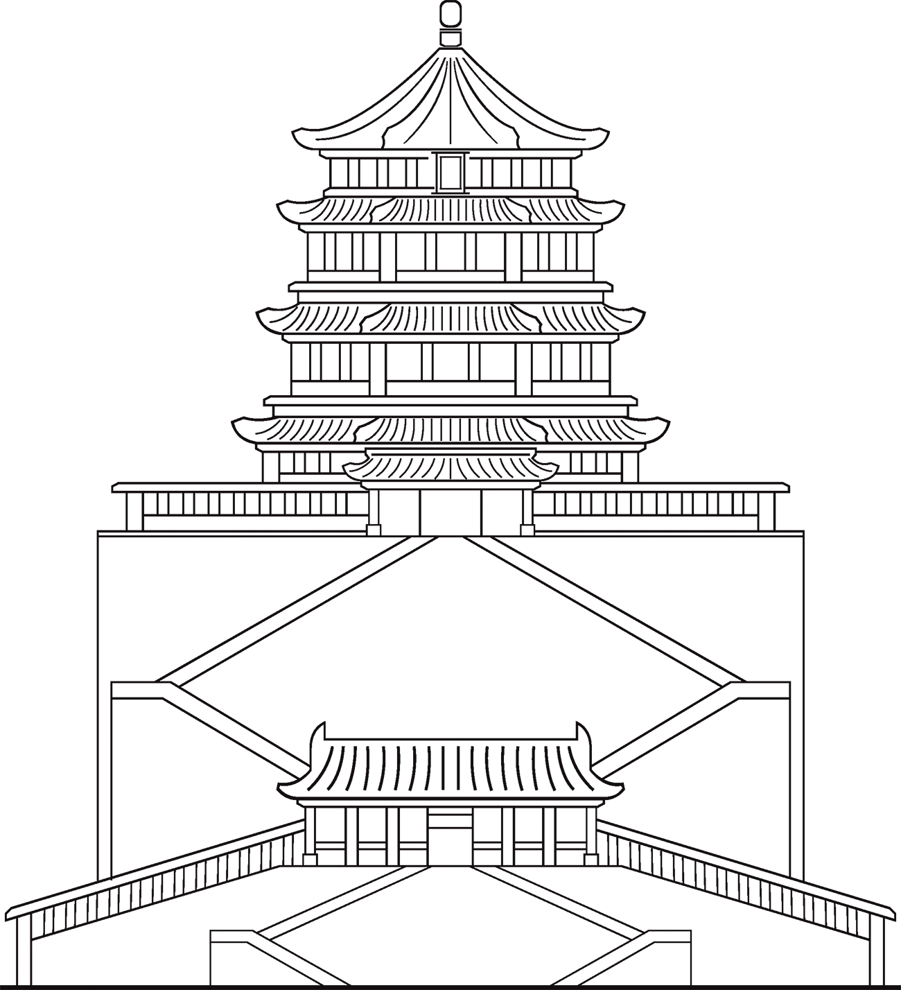 jpg freeuse download Of heavenly purity forbidden. Palace drawing