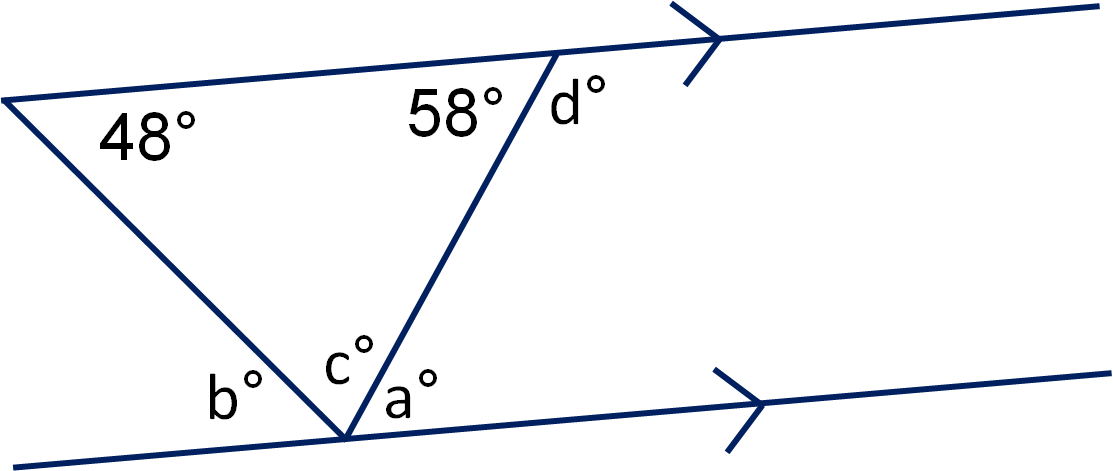 png Angles in Triangles and on Parallel Lines