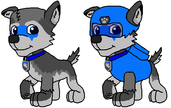 clip transparent Leon the Paw Patrol Pup by Wolf