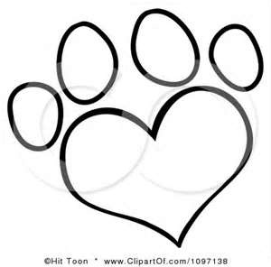 banner royalty free stock Puppy Paw Drawing at PaintingValley
