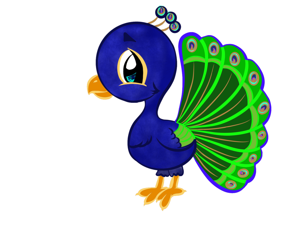 png royalty free download Drawing peacocks cartoon. Peacock colored lines by