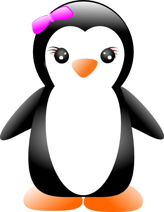 freeuse library Penguins cartoon image group. Drawing penguin animation
