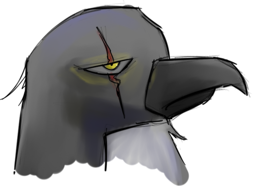 vector freeuse By alessand on deviantart. Drawing penguin badass