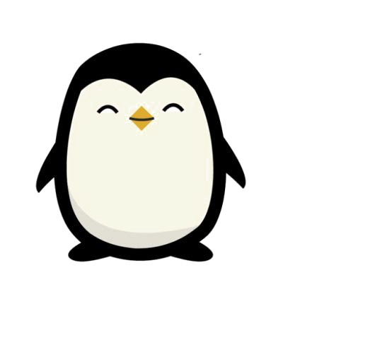 graphic black and white library Drawing penguin cartoon. Transprent png free download