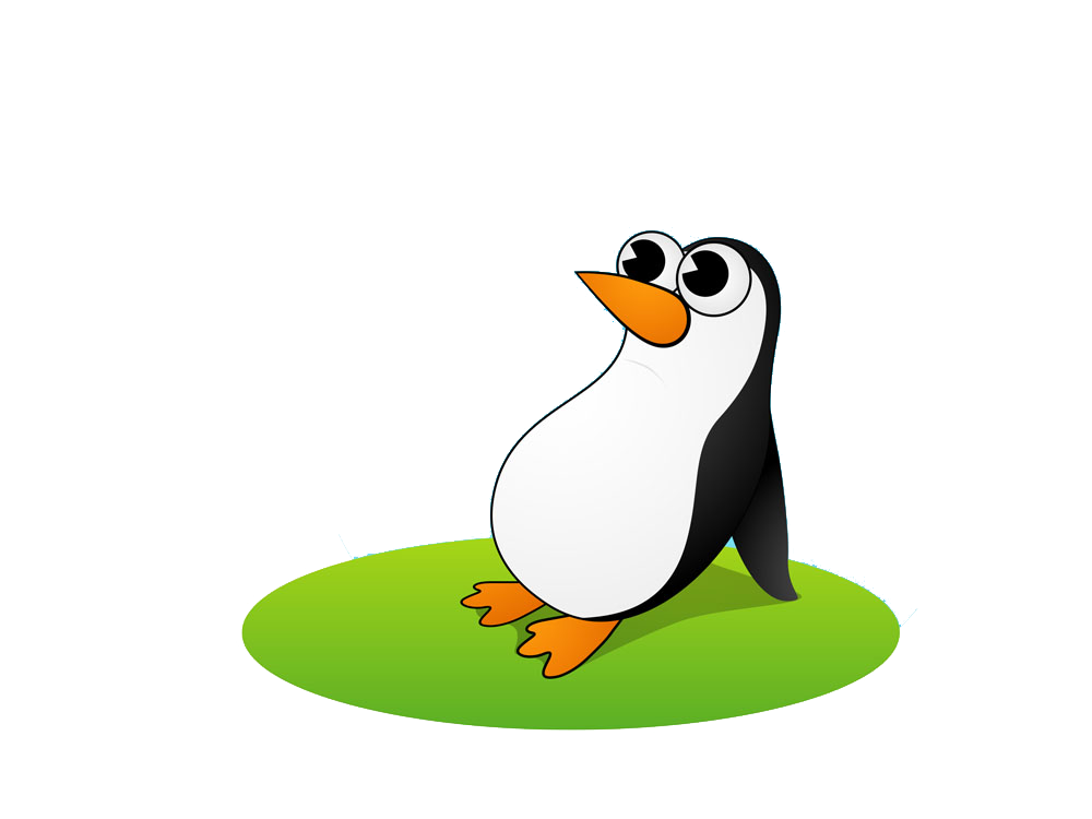 graphic black and white library Drawing penguin creative. King antarctica bird cartoon