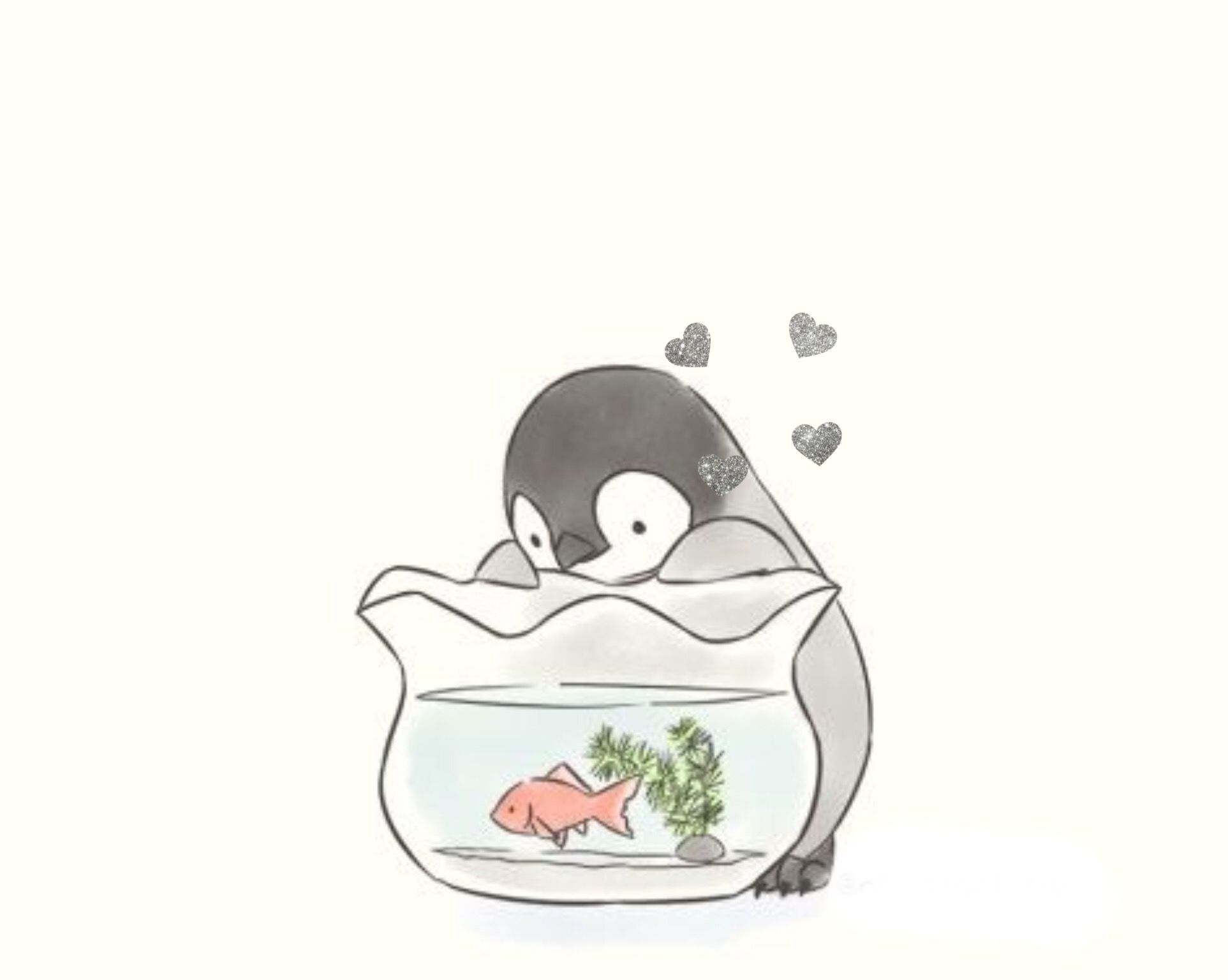 image transparent stock Sweet in drawings penguins. Drawing penguin cute animal