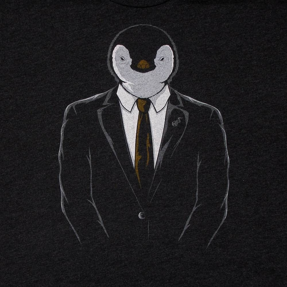 picture download Drawing penguin epic. Linux official tri blend