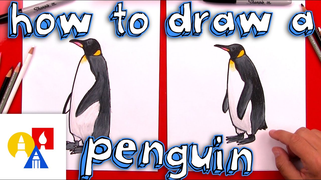 svg freeuse Drawing penguin epic. How to draw a