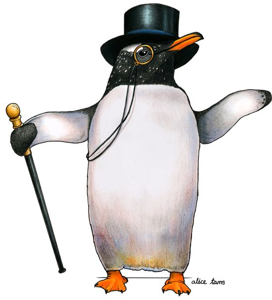 svg free download Drawing penguin top hat. Gentoo in a my