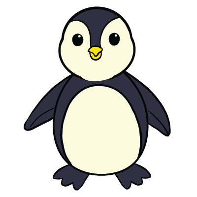 vector freeuse download Drawing penguin. Collection of free penguins
