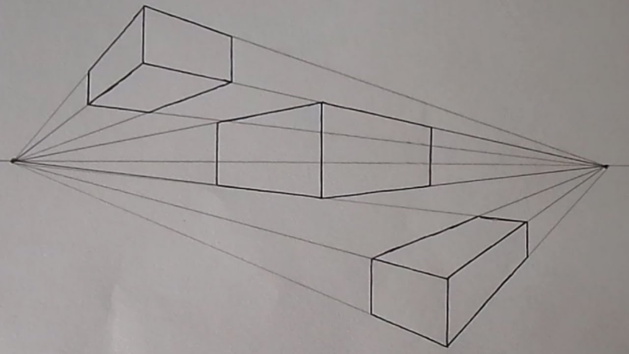 banner black and white Drawing perspectives easy. How to draw in