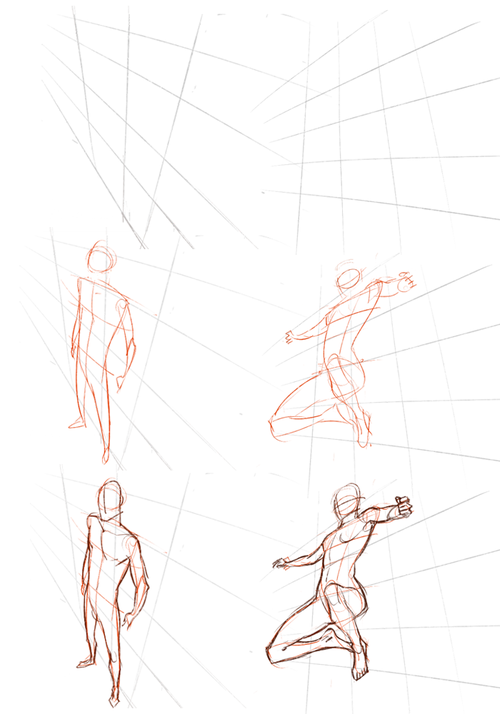 graphic freeuse library Perspective on tips tutorials. Drawing perspectives figure