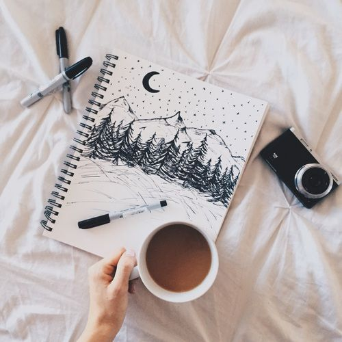 image black and white stock Drawing photography. Relax coffee art draw