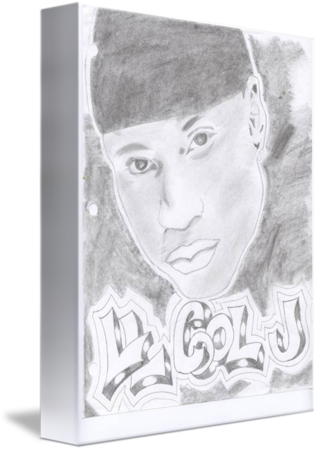 free library Ll cool j by. Drawing photography art