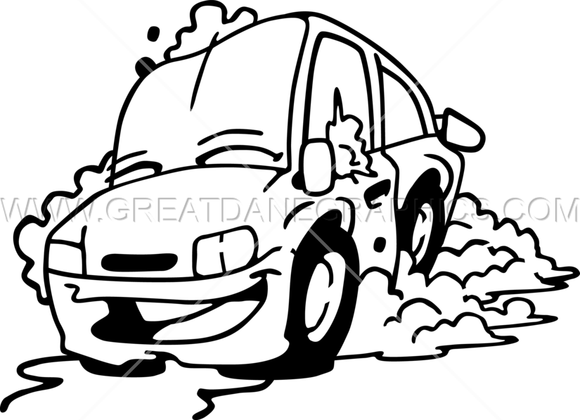 banner royalty free download Drawing photography car. Production ready artwork for