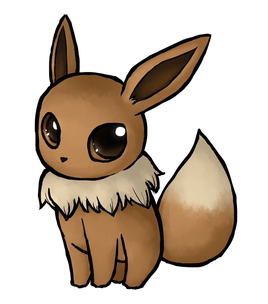 svg royalty free Drawing photography cute. Eevee by xlolfishx on