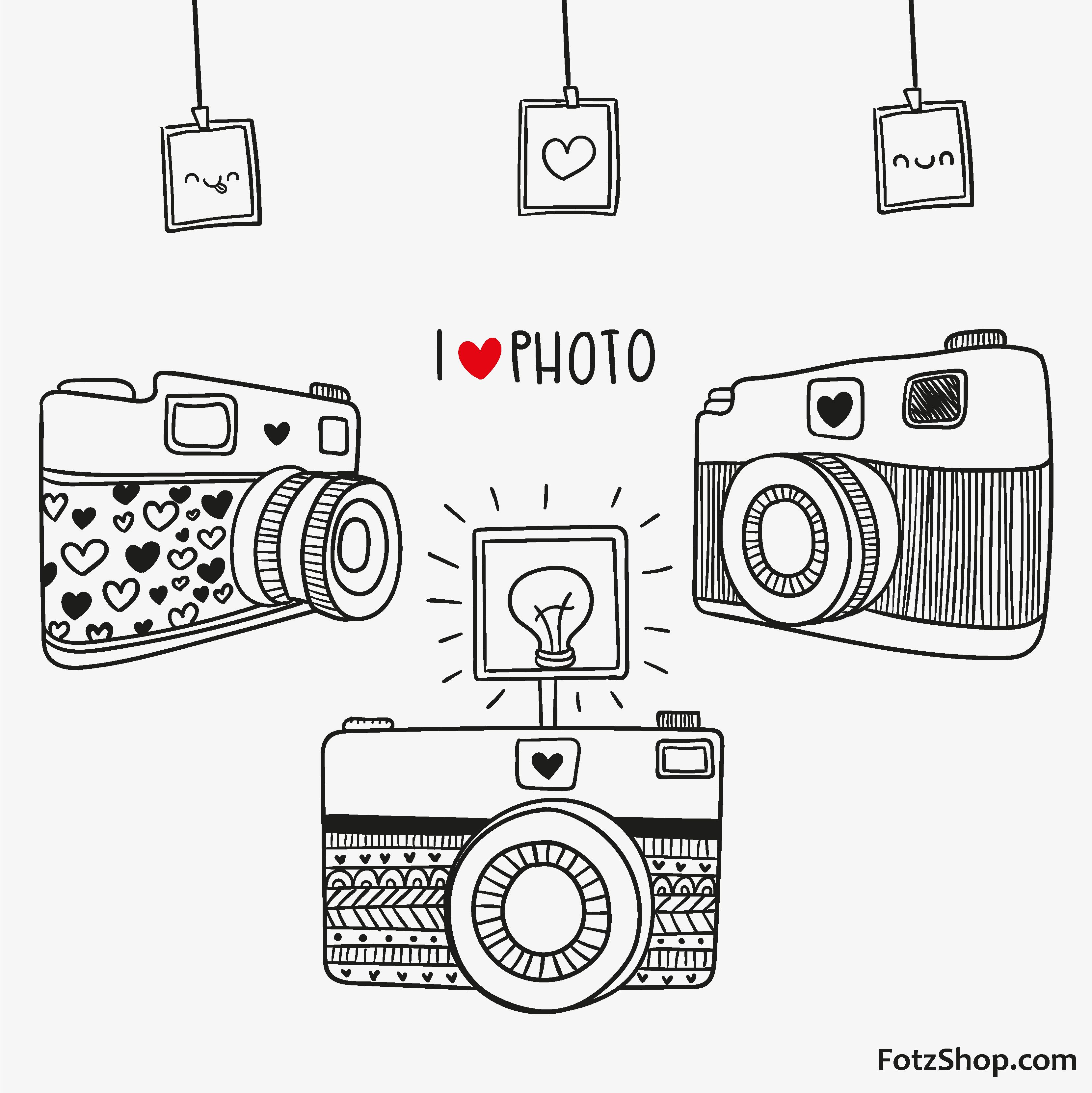 clipart stock Fotzshop dibujos in camera. Drawing photography easy