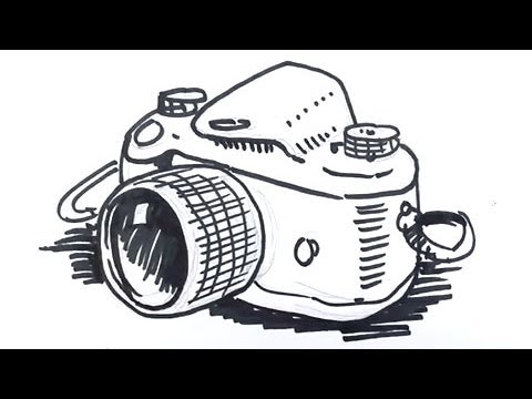 free Drawing photography easy. Camera simple at paintingvalley