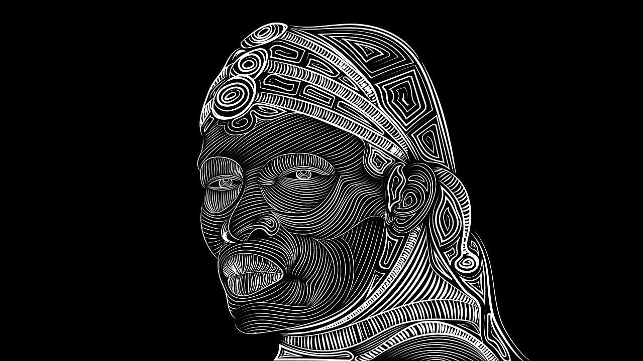 jpg free download Maasai black white free. Drawing photography tribal