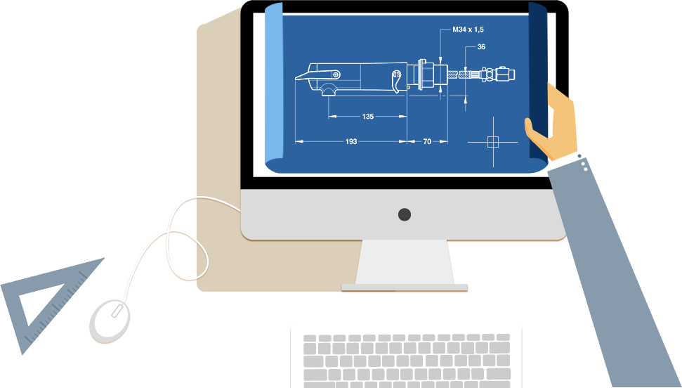 jpg royalty free stock Drawing platform cad. Haks software interior design