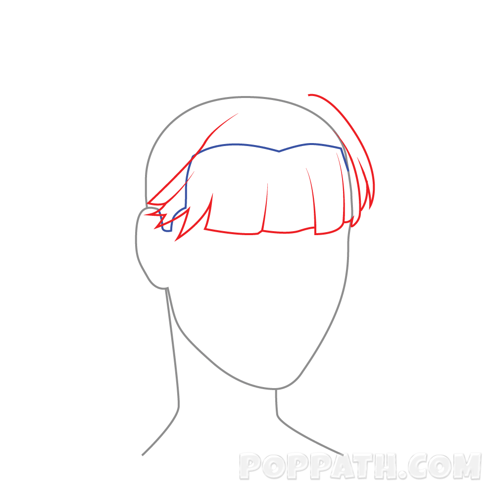 png freeuse download How To Draw Female Hairstyle