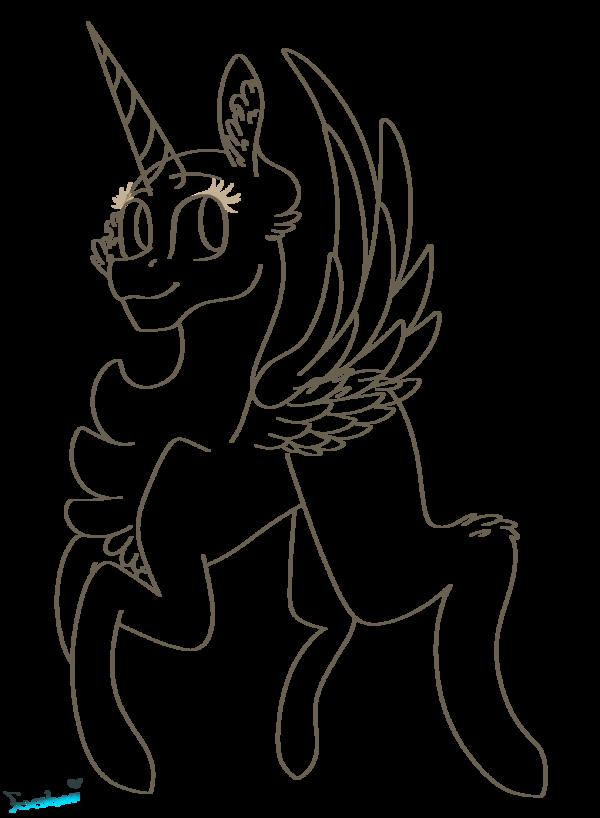clip freeuse download Mlp base pegasus unicorn. Drawing ponytails reference