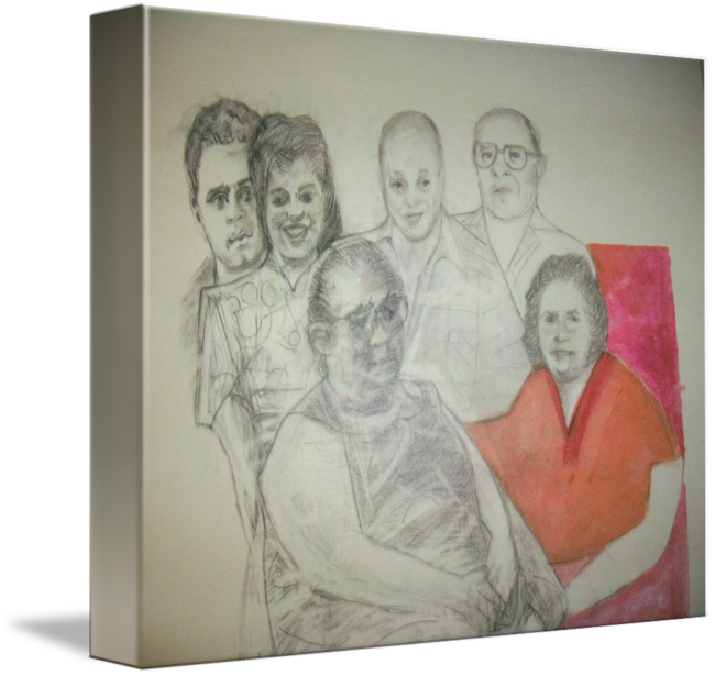 png transparent download By maya dickhoff . Drawing portrait family