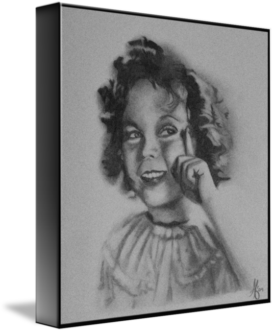 image download Shirley temple by alycia. Drawing portrait photography