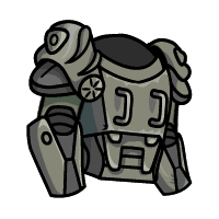 clip art library library Drawing power fallout. Armor need help community