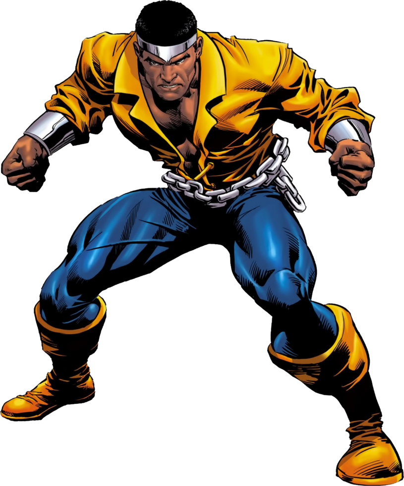 vector free library Drawing power luke cage. Man render by xxkyrarosalesxx