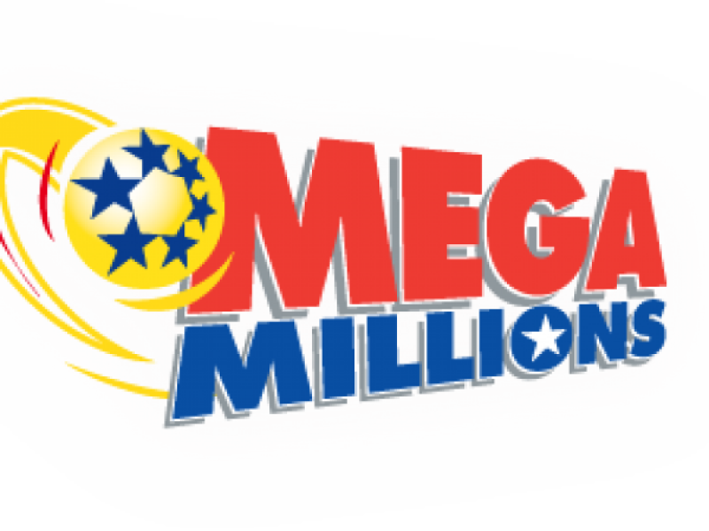 png black and white Drawing powerball winning numbers. Mega millions for million