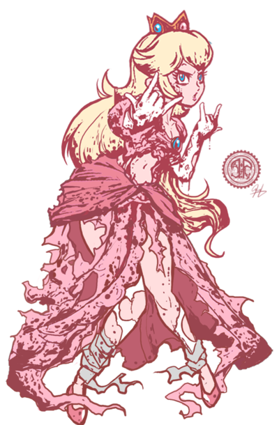 vector download Drawing princess badass. Torn peach final smash