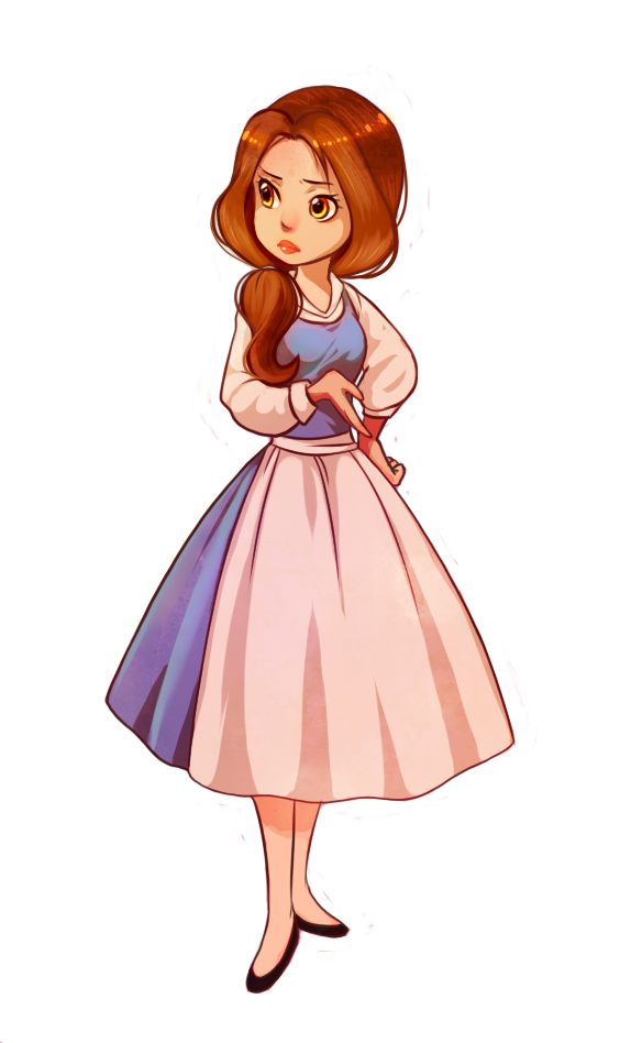 image royalty free library Drawing princess beauty and the beast. Disney princesses belle wtf