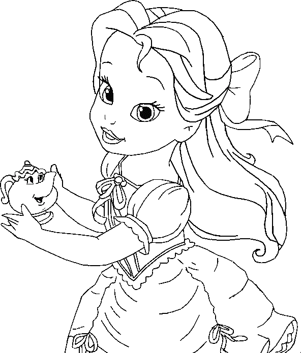 free library Drawing princess belle. Coloring pages mapiraj