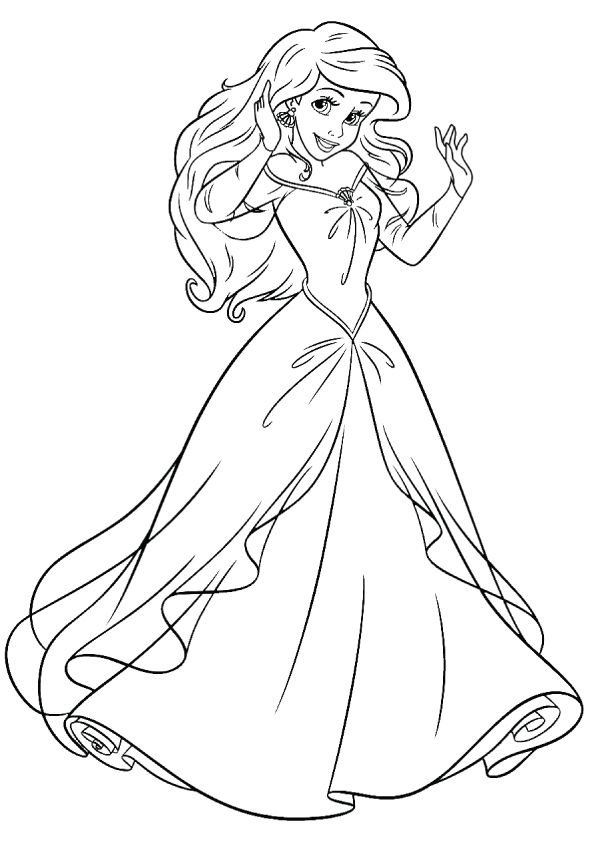 png transparent stock Drawing princess coloring. Top disney pages for