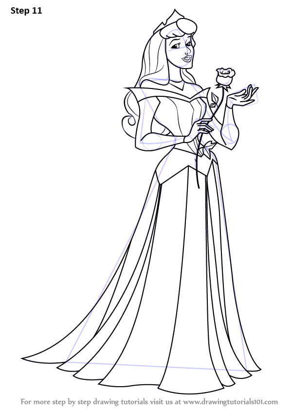 banner library Drawing princess full body. Learn how to draw