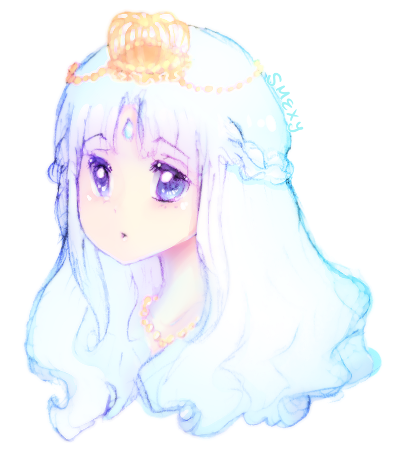 picture freeuse download M csf hime cut. Drawing princess long hair
