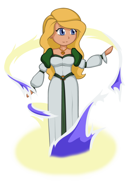 vector free library Drawing princess odette. The swan by shinda