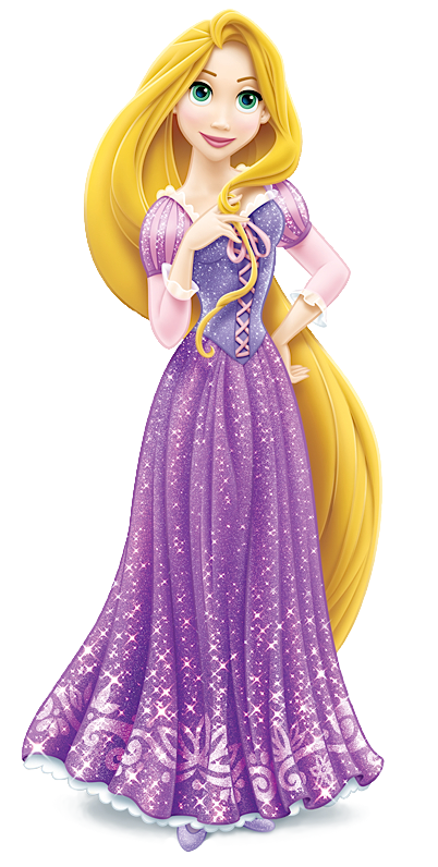 clipart freeuse library Collection of free color. Drawing princess rapunzel