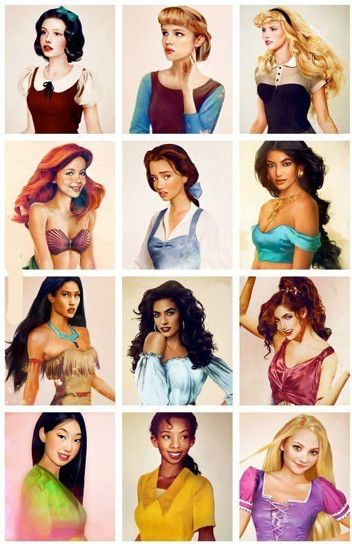 transparent download Drawing princess realistic. Drawings of the disney