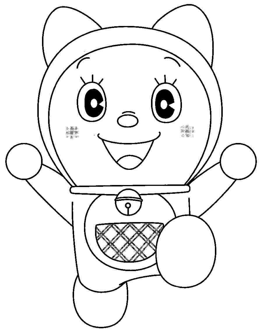 picture free stock Drawing printables cartoon. Coloring sheets doraemon gian